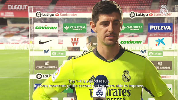 Thibaut Courtois: 'We've got another final against Athletic on Sunday'