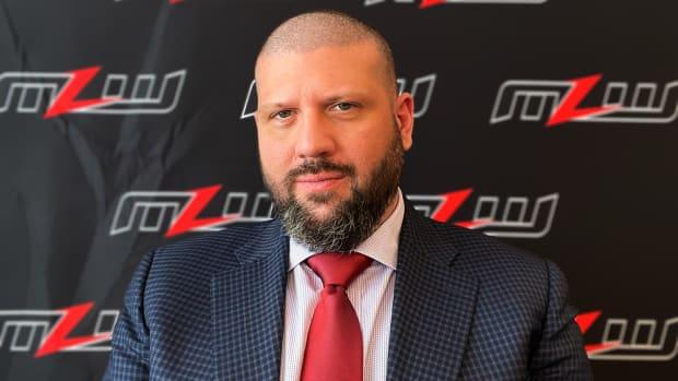 Portrait of Major League Wrestling CEO Court Bauer