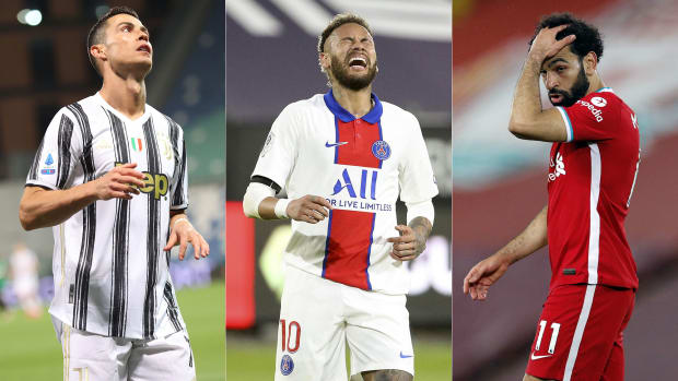 Cristiano Ronaldo, Neymar and Mohamed Salah's clubs are facing high stakes