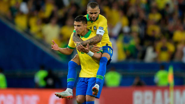 Thiago Silva and Dani Alves are back for Brazil
