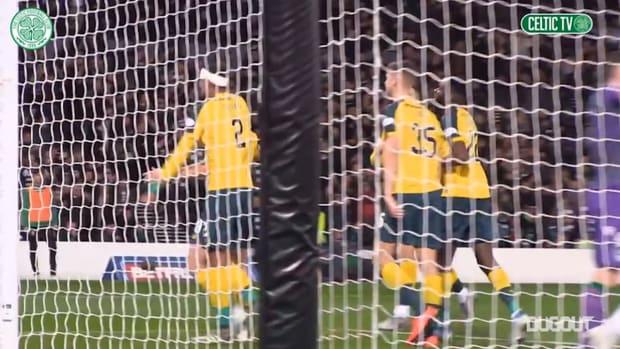 Scott Brown double seals League Cup final spot