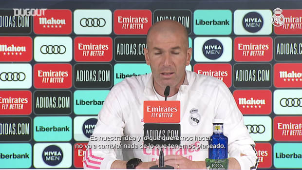 Zinedine Zidane: 'My players are giving their all and I'm very proud of them'