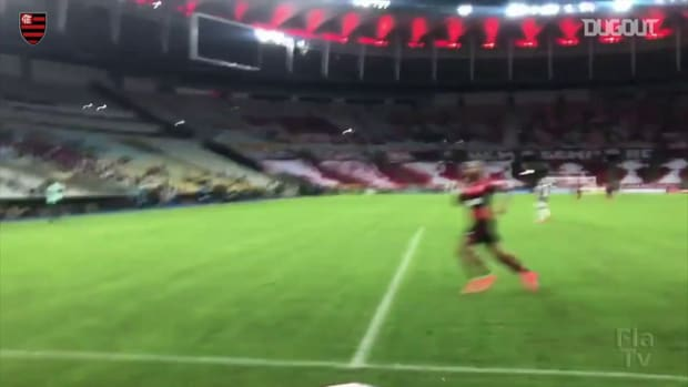 Gabriel Barbosa's goal against Fluminense