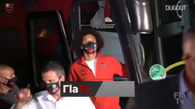 Behind the scenes of Flamengo's draw vs Fluminense at Maracanã