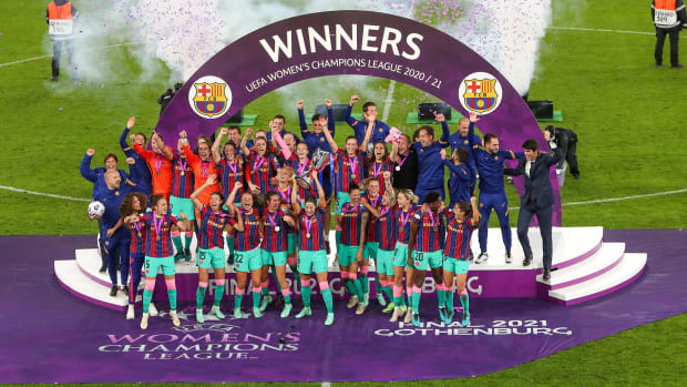 Barcelona wins the UEFA Women's Champions League