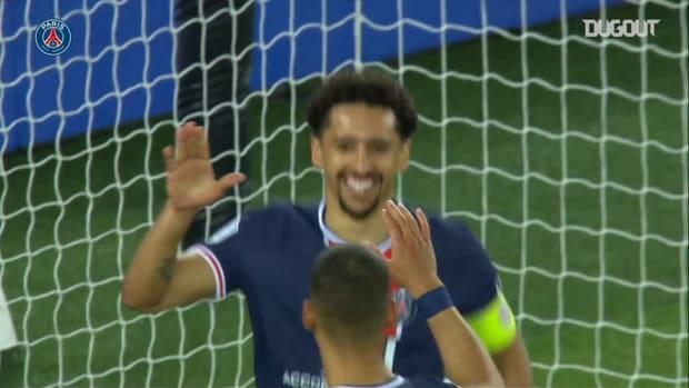 Marquinhos's superb head against Reims