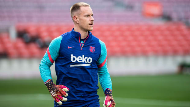 Germany's Marc-Andre ter Stegen is out for the Euros