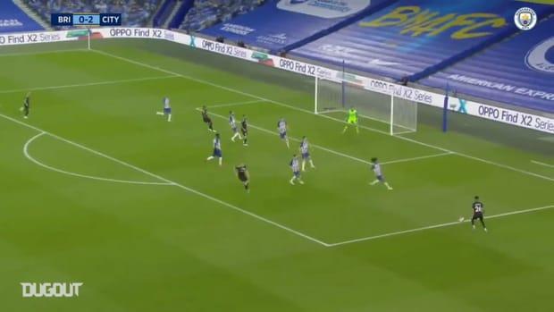 Raheem Sterling's sensational hat-trick vs Brighton