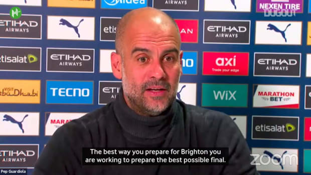 Guardiola: Winning games the best way to prepare for Champions League final