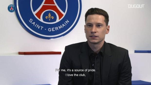 Draxler extends his contract with Paris Saint-Germain