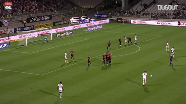 Gourcuff's amazing free-kick vs Nice