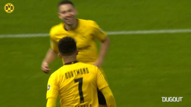 Sancho and Haaland fire Dortmund to fifth DFB Cup win