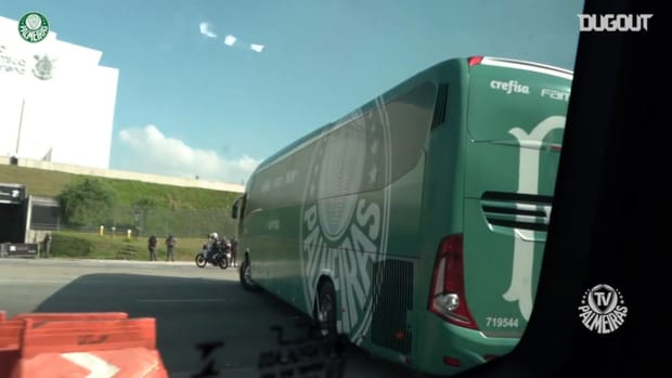 Behind the scenes of Palmeiras' away victory over Corinthians