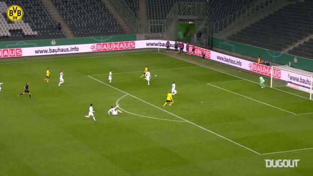 Erling Haaland's incredible DFB Cup season