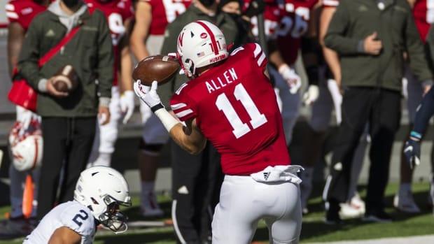 Austin Allen, Nebraska football tight end