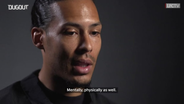 Van Dijk on recovery and playing in front of fans next season