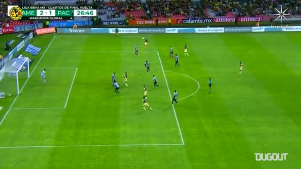 Luis Fuentes's astonishing volley goal vs Pachuca