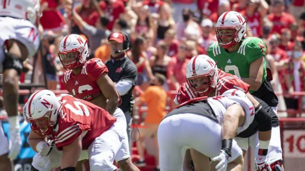 Adrian Martinez, Nebraska football quarterback