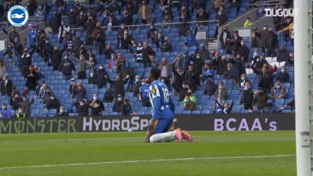 Pitchside view: Brighton beat Man City in thrilling home finale