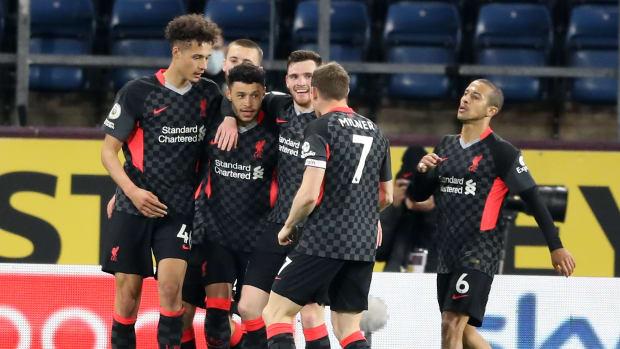 Alex Oxlade-Chamberlain Burnley Goal