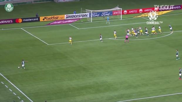 Palmeiras' goals against Defensa y Justicia at Allianz Parque