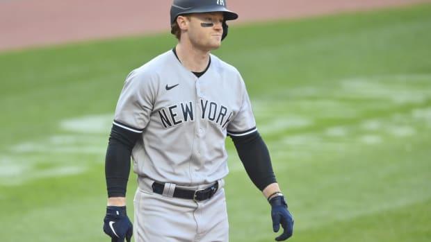 Yankees OF Clint Frazier