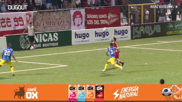 Juan Barrera's great goal vs Managua