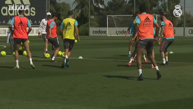 Real Madrid continues preparations for Villarreal game