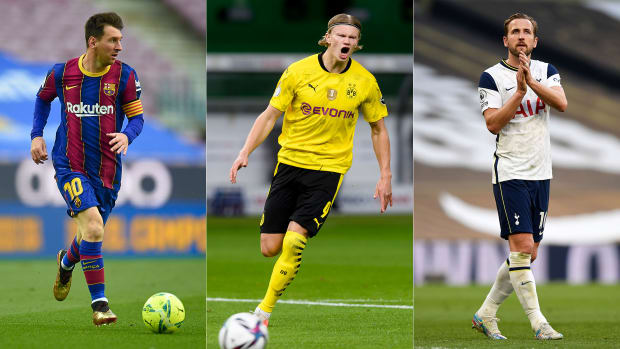 Lionel Messi, Erling Haaland and Harry Kane could be on the move this summer