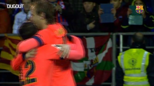 Leo Messi's Amazing Set Piece Goal vs Eibar