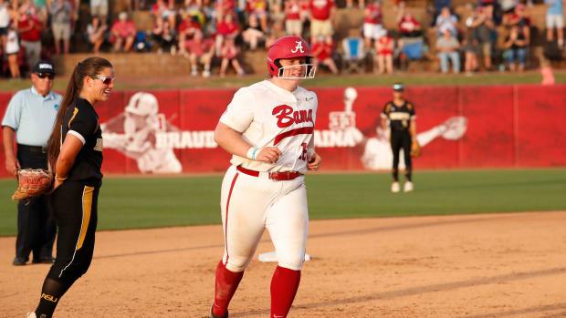 Bailey Hemphill Alabama softball