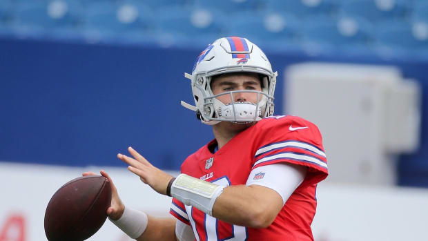 Jake Fromm lived a life of isolation from the Bills in 2020.