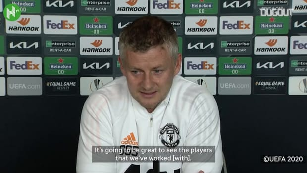 Solskjær gives Harry Maguire update ahead of Europa League final