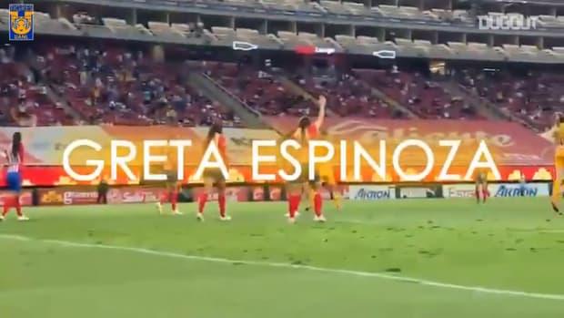 Greta Espinoza's 94th minute against Chivas