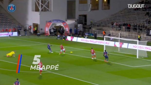 PSG's best five goals in the 20-21 Ligue 1 season