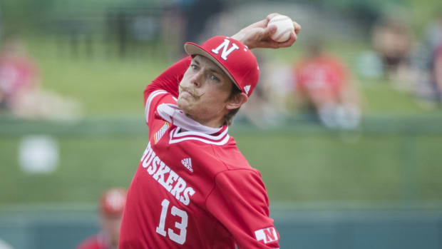Chance Hroch, Nebraska baseball pitcher