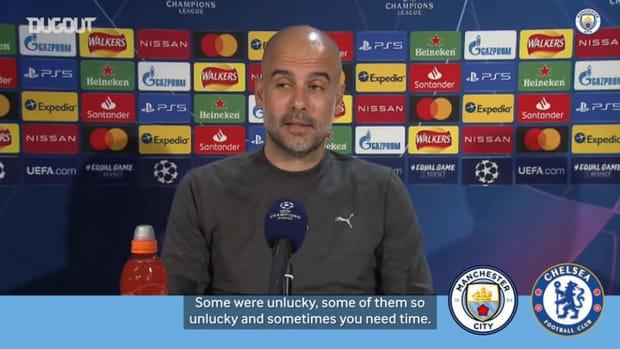 Guardiola previews Chelsea ahead of Champions League final