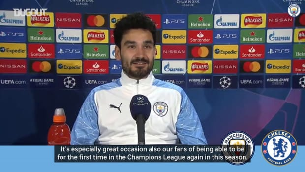 Gündoğan: The atmosphere for the final is going to be amazing
