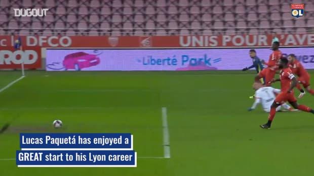 Lucas Paquetá's incredible first season at Lyon