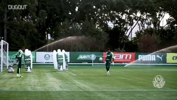 Palmeiras' last training session before Universitario clash
