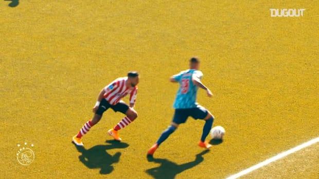 Antony's impressive debut season for Ajax