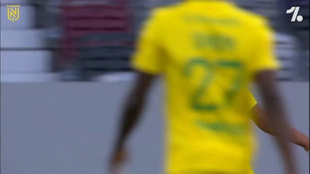 FC Nantes win first Ligue 1 playoff leg at Toulouse