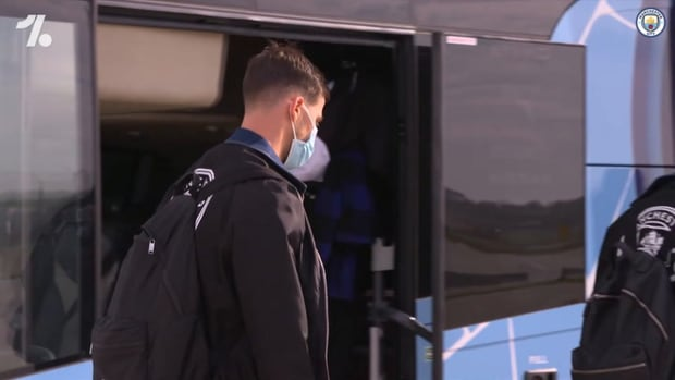 Behind the scenes: City arrive in Porto for Champions League final
