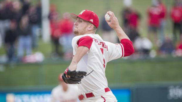 Spencer Schwellenbach, Nebraska baseball