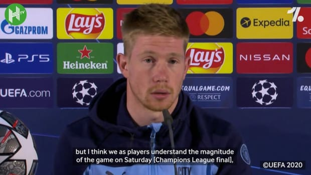 De Bruyne: 'If you win you're hero, if you lose you're almost a failure'