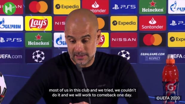 Pep on UCL final: 'We will work to comeback one day'