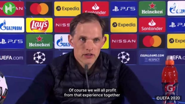 Tuchel: I'm speechless, it's for my parents, family and kids