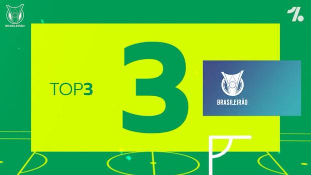 Top three goals of 2021 Brasileirão's first match week