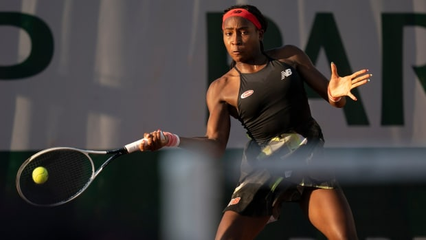 Coco Gauff French open day 3