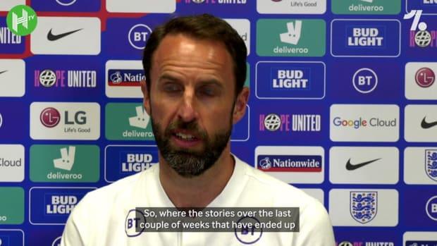 Gareth Southgate addresses Trent Alexander-Arnold situation